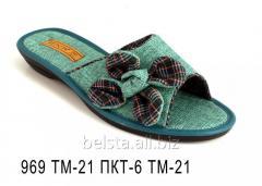 Женские тапочки 969 ТМ-21 ПКТ-6 ТМ-21