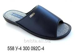 Мужские тапочки 558 У-4 300 092С-4
