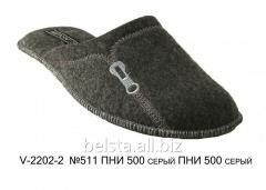 Мужские тапочки V-2202-2 №511 ПНИ 500 серый ПНИ