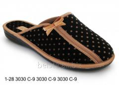 Женские тапочки 1-28 3030С-9