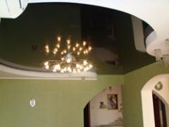 Stretch ceilings sutural, a stretch ceiling, a