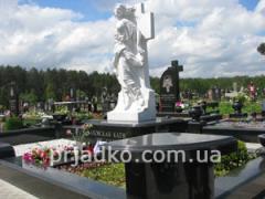 Надгробия на могилах умерших