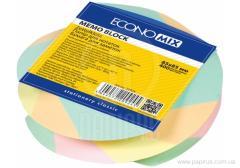 Economix scratch paper, in spiray, 85х85, 400 l. zebra