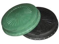 Plastic manhole easy (type L) 1,5t with the