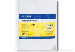 The file for the documents A4 + Economix, 40 microns, the invoice luster of 100 pieces / unitary enterprise