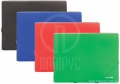 The B5 folder plastic on elastic bands, allsorts, an art.: E31602