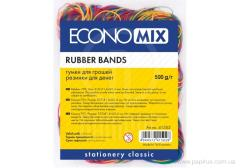 Economix 500 rubber bands of, allsorts