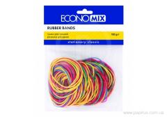 Economix 100 rubber bands of, allsorts