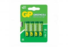 Piece GP Greencell AA 4 battery in packing