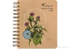 A5 notebook +,  Flowers of Ukraine,  100 l.,...