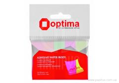 Stickers bookmarks of Optima, 50x15, 5 flowers, 500 pieces.