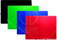 The folder on elastic bands of A4 of Optima Pixelz, allsorts