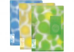 Папка А4 пластиковая Clip В Mini цветная печать,