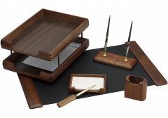Набор настольный деревянный, 6 предметов O36437