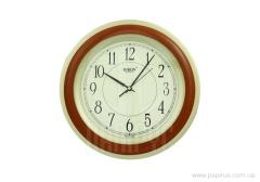 Rikon 6951 Wood-1 wall clock
