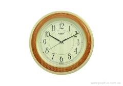 Rikon 6951 Wood-2 wall clock