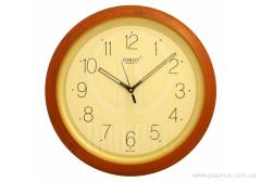 Rikon 10751 Ivory Wood wall clock