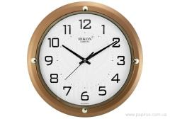Rikon 407 Brown wall clock