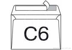 SKL envelope C6 format density 75g/sq.m