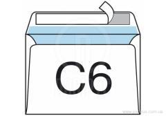 SKL envelope C6 100 format of pieces density 80g/sq.m
