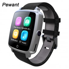 Смарт часы Smart watch U11 кожаный ремешок, bluetooth