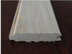 Lining wooden bilateral ash-tree
