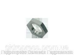 Контргайки для переборочных резьбовых соединений, Нержавеющая сталь Rubrik 8.253