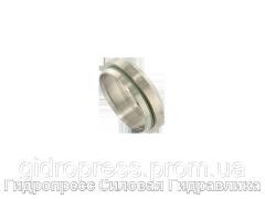 Двугранные врезные кольца с мягкой печатью ES4 - Viton, Нержавеющая сталь Rubrik 8.263