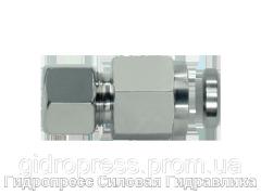 Муфта гидравлическая с металлическим уплотнительным кольцом - стандарт, Нержавеющая сталь Rubrik 8.146
