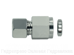 Муфта гидравлическая с металлическим уплотнительным кольцом - SC, Нержавеющая сталь Rubrik 8.145