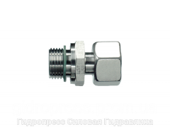 Штуцер с уплотнительным кольцом, Нержавеющая сталь Rubrik 8.143