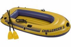 Лодка надувная Sea Hawk 2 Set Intex 68347