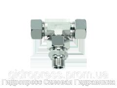Тройниковое регулируемое резьбовое соединение - стандарт, Нержавеющая сталь Rubrik 8.203