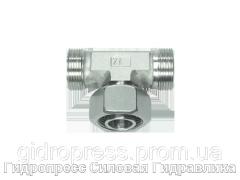 Тройник регулируемое резьбовое соединение - OMD, Нержавеющая сталь Rubrik 8.201