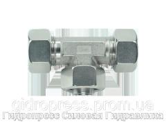 Тройник регулируемое резьбовое соединение - стандарт, Нержавеющая сталь Rubrik 8.199