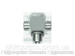 Тройник, трубное соединение с кольцом уплотнения - OMD, Нержавеющая сталь Rubrik 8.183