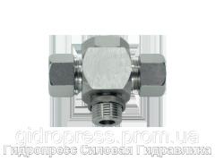 Тройник, трубное соединение с кольцом уплотнения - стандарт, Нержавеющая сталь Rubrik 8.182