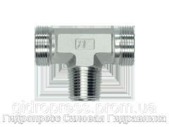 Тройник резьба конусная - OMD, Нержавеющая сталь Rubrik 8.108
