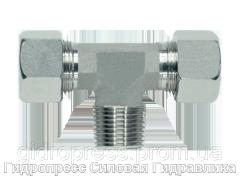 Тройник резьба конусная - стандарт, Нержавеющая сталь Rubrik 8.107