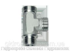 Тройник трубное соединение - OMD, Нержавеющая сталь Rubrik 8.132