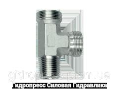 Тройник трубное соединение метрическая резьба - OMD, Нержавеющая сталь Rubrik 8.129