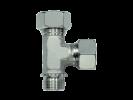 Тройник трубное соединение цилиндрическая резьба - OMD, Нержавеющая сталь Rubrik 8.126