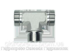 Тройник резьба цилиндрическая - OMD, Нержавеющая сталь Rubrik 8.111