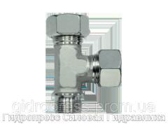 Тройник трубное соединение цилиндрическая резьба - стандарт, Нержавеющая сталь Rubrik 8.125