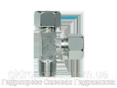Тройник трубное соединение конусная резьба - стандарт, Нержавеющая сталь Rubrik 8.122