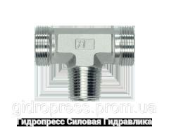 Тройник трубное соединение NPT - OMD, Нержавеющая сталь Rubrik 8.120