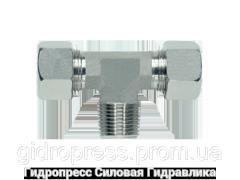 Тройник трубное соединение NPT - SC, Нержавеющая сталь Rubrik 8.118