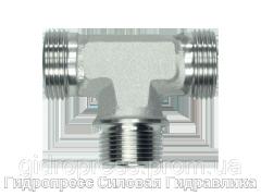 Тройник резьба метрическая - цилиндрическая - OMD, Нержавеющая сталь Rubrik 8.117