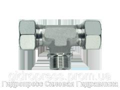 Тройник резьба метрическая - цилиндрическая - SC, Нержавеющая сталь Rubrik 8.116