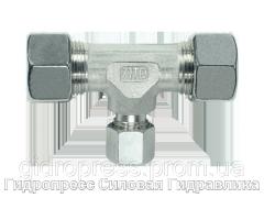 Тройник, Резьбовые соединения TRV - стандартное исполнение, Нержавеющая сталь Rubrik 8.28
